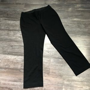 INC Black Pull On Pants